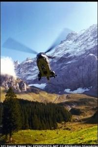 вертолет, полет