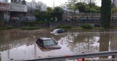 Китай, наводнение