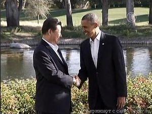 СИ Цзиньпин, Обама