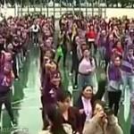 Флешмоб в Гонконге провели горничные (видео)
