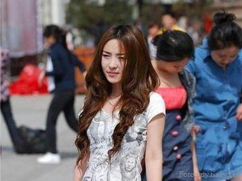 Китай, красота, девушки