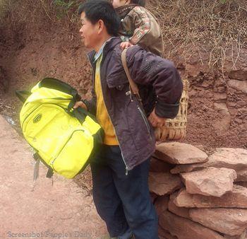 инвалид, ребенок, школа, Китай