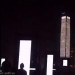 На высочайшем здании Гонконга показали световое шоу (видео)