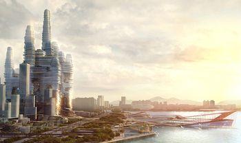 Китай, наука, город, экология