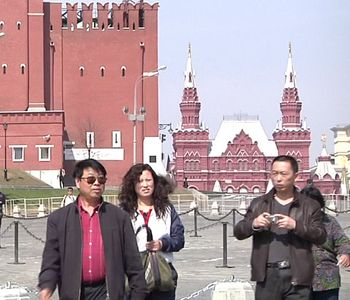 Китай, Россия, Москва, туризм