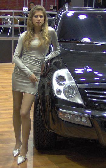 девушки, модели, автошоу, автосалон