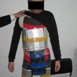Китайского контрабандиста с айфонами выдала походка