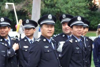 Китай, полиция