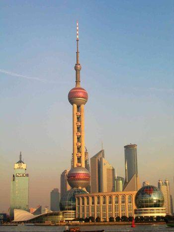 Шанхай, Китай, высотки, небоскреб