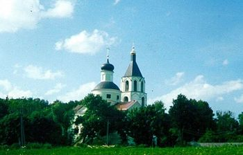 храм, усадьба, Москва