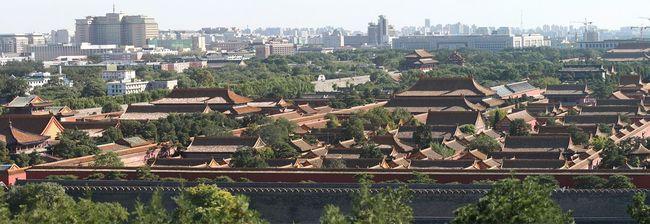 стихия, наводнение, Запретный город, Пекин