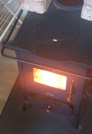 печка, огонь