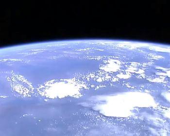 космос, спутник, земля