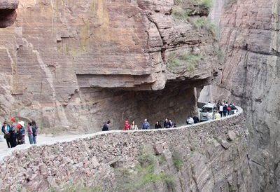 дорога, горы, Китай