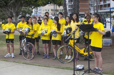 велопробег, дети, сироты