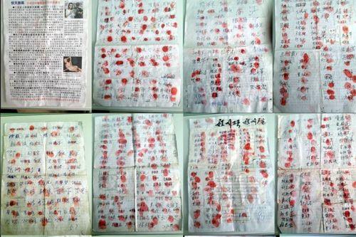 подписи, китайцы, петиция