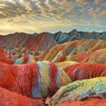 Цветные скалы Чжанъе — тайна удивительной красоты (фото)