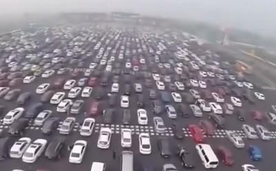 пробка, новости Китая, авто