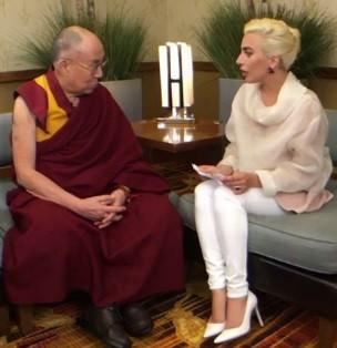 Леди Гага, Далай-лама, запрет, Китай