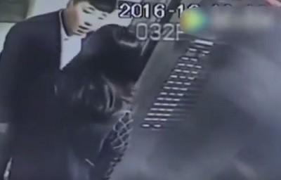 лифт, избиение, китай,