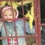Воспитание по-китайски: детки в клетке