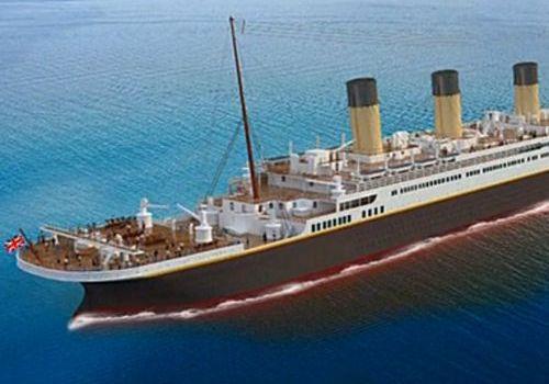 Титаник, корабль