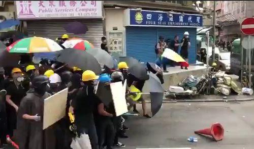 протесты в Гонконге,