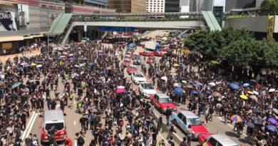 протестное движение, протесты в Гонконге,