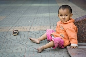 Китай, дети, США