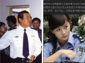 полицейский, Китай, коррупция