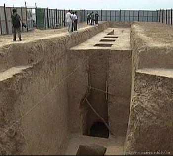 раскопки, археология, Китай