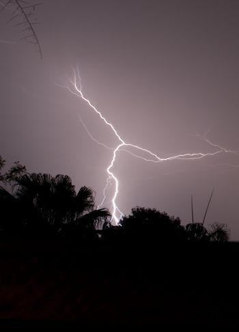 молния, непогода, стихия