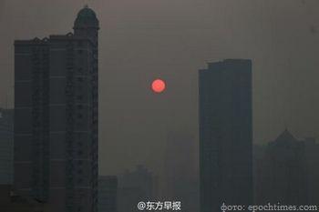 Китай, смог, экология