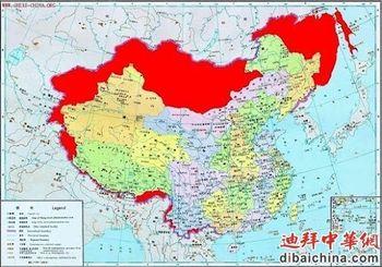 карта, Китай