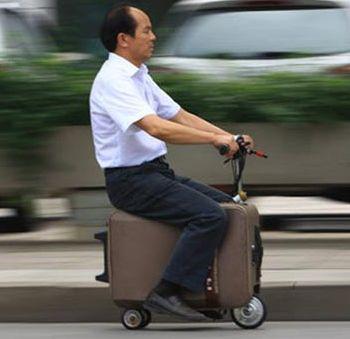 Китай, чемодан, багаж, изобретение