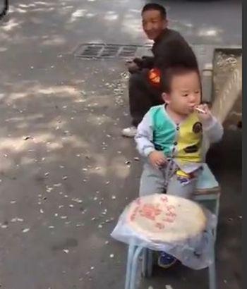 курение, ребенок, Китай
