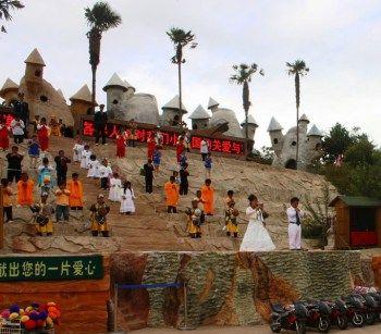 карлик, шоу, Китай
