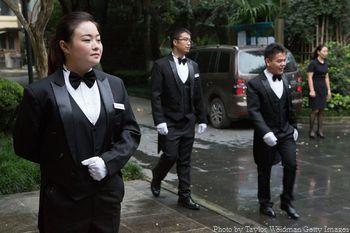 Китай, прислуга, дворецкий