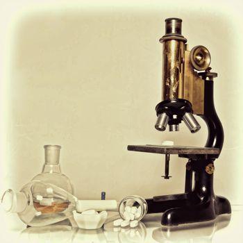 лаборатория, анализ, химикаты