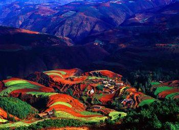 пейзаж, фото, Китай