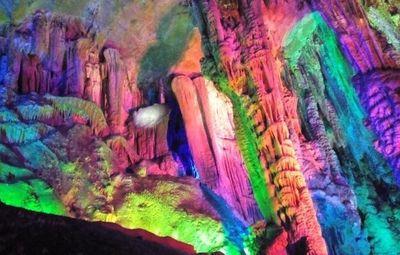 Гуйлинь, горы, Китай, пещера
