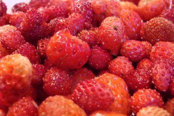 ягоды, еда