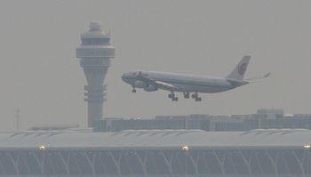 самолет, аэропорт, полет