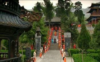 монахи, Шаолинь, Китай