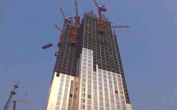 стройка, небоскреб, недвижимость,