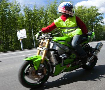 байкер, мотоцикл