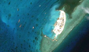 остров, море, Китай
