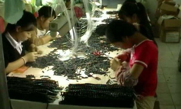 Китай, рабский труд,