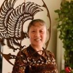 Китайская художница создает шедевры  из листьев