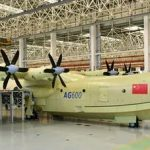 Новый китайский самолет-амфибия оказался очень крупным